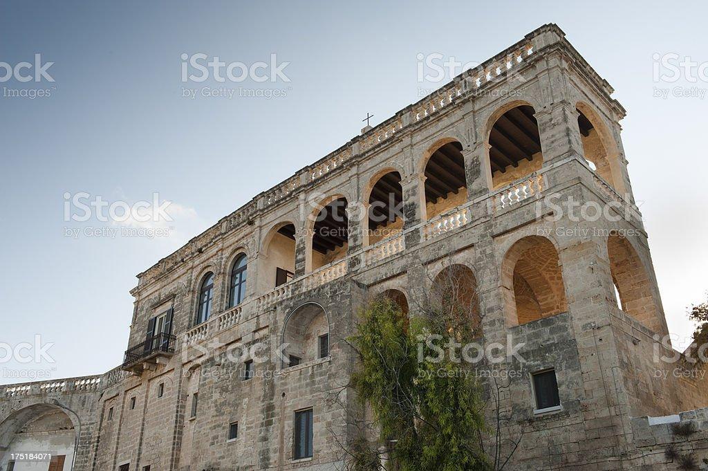 San Vito Abbey (Polignano a mare - Apulia), southern Italy stock photo