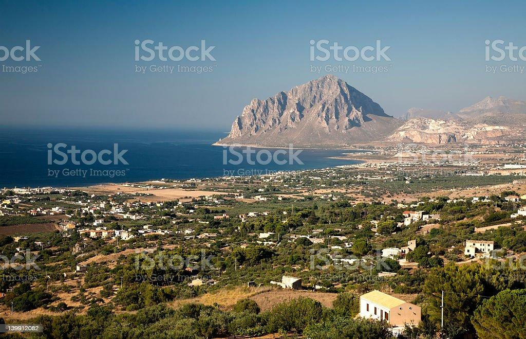 San Vito Lo Capo stock photo
