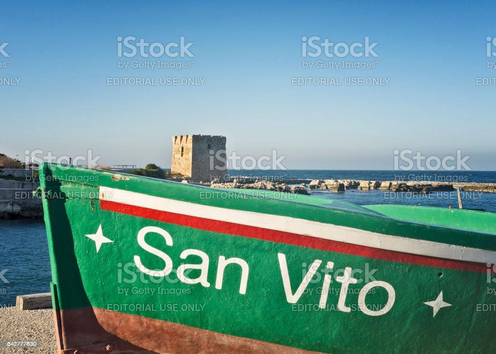 San Vito stock photo