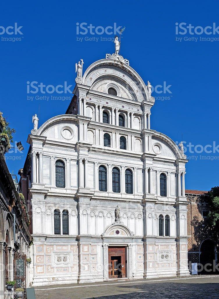 San Zaccaria Church church in Venice, Italy stock photo