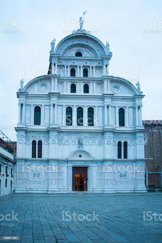 San Zaccaria, Venice stock photo
