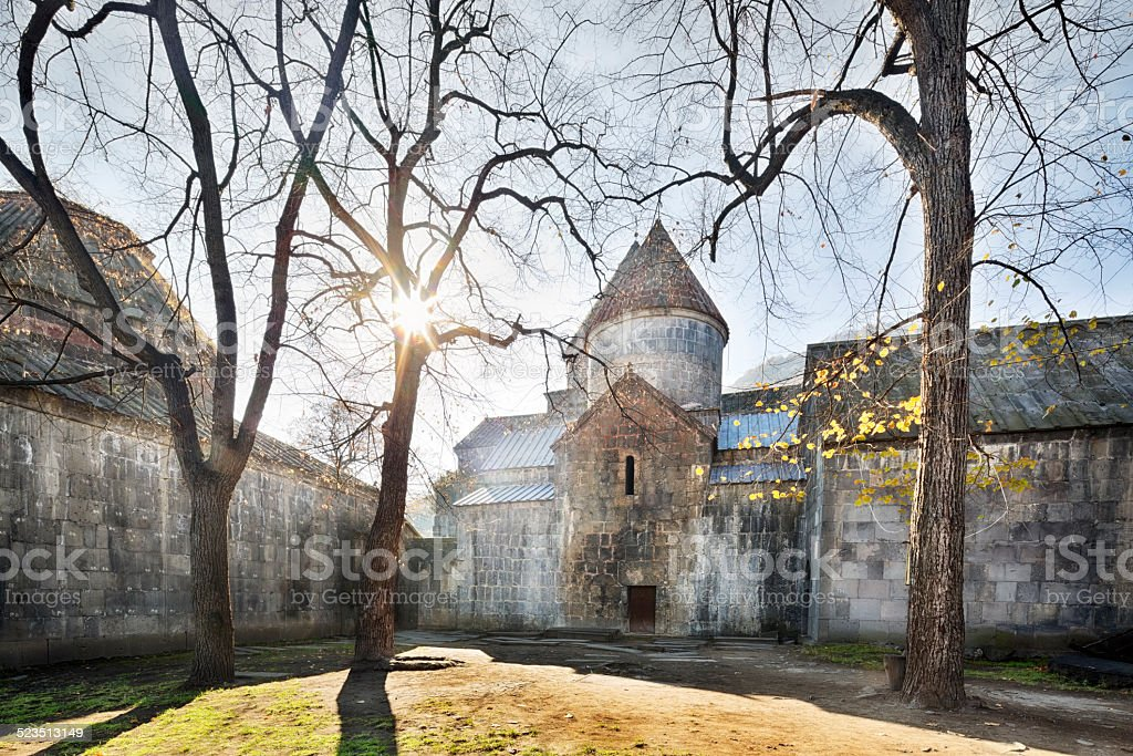 Sanahin Monastery, Armenia stock photo