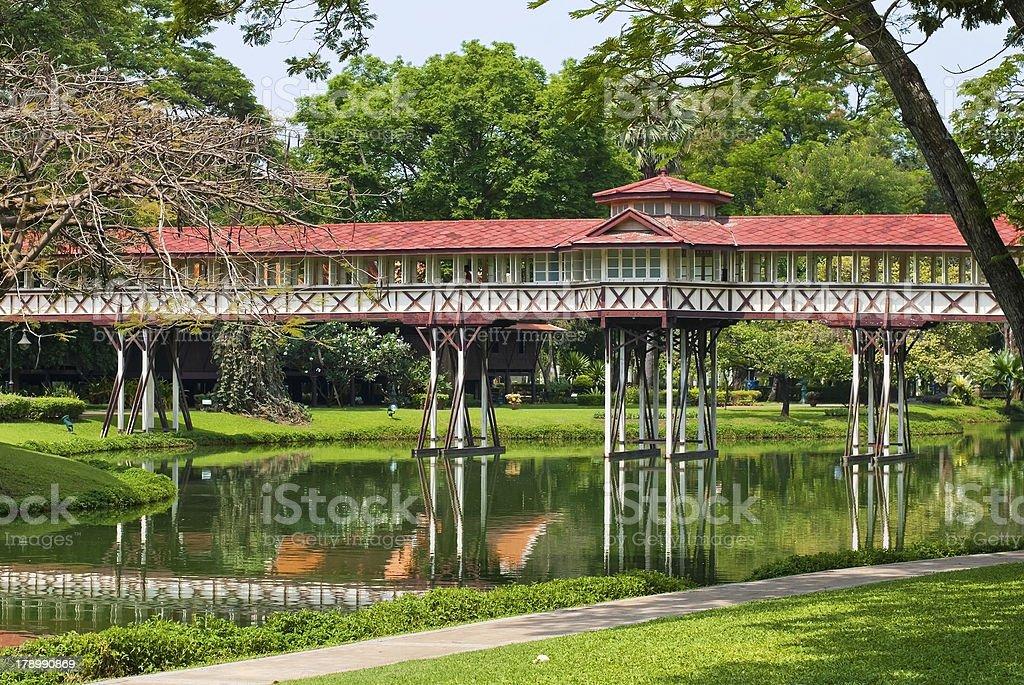 Sanam Chan Palace,(King Rama 6) royalty-free stock photo