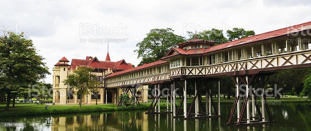 Sanam Chandra Palace, Thailand royalty-free stock photo