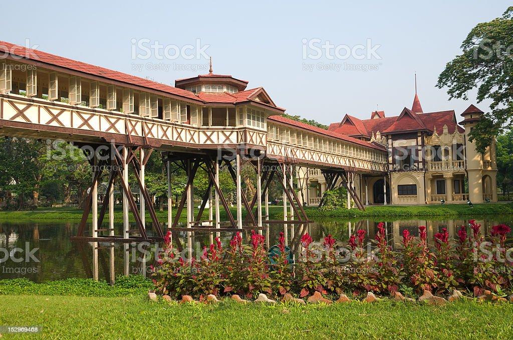 Sanamchan palace Thailand royalty-free stock photo