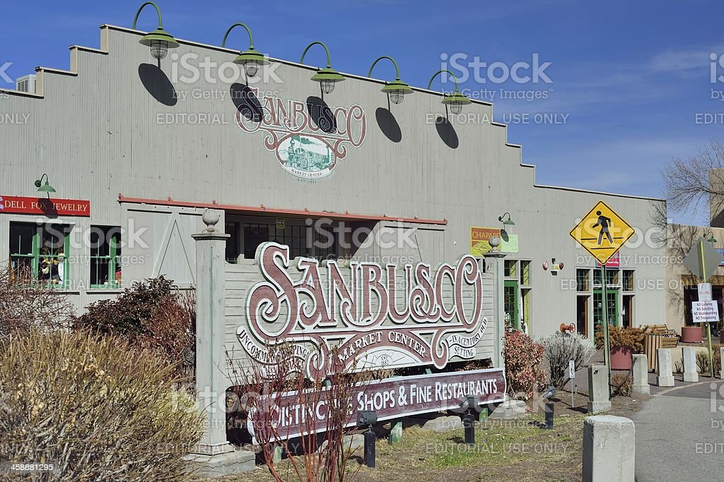Sanbusco Market, Santa Fe royalty-free stock photo