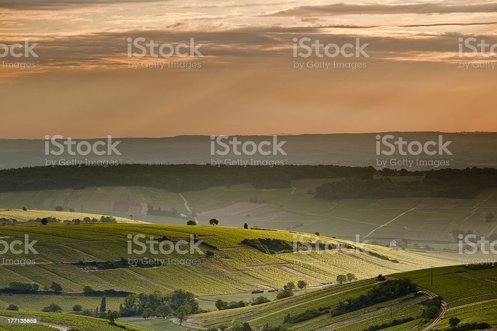 Sancerre, Cher, Centre, France. royalty-free stock photo