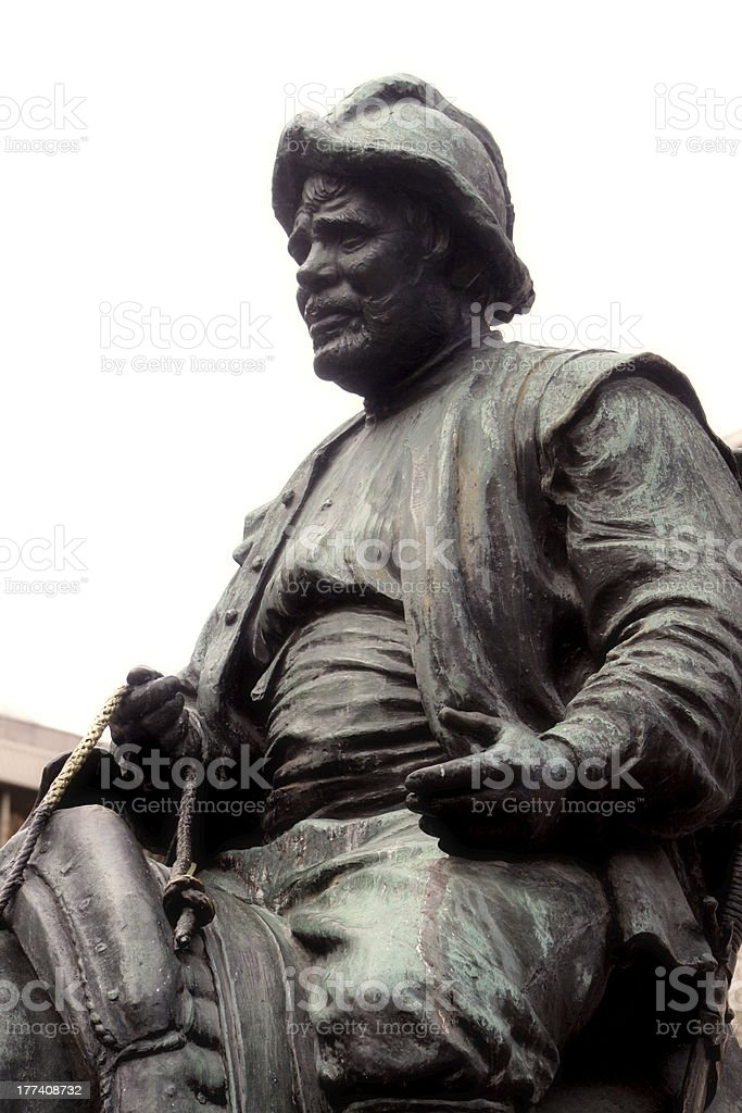 Sancho Panza stock photo