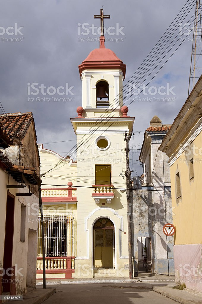 Sancti Spiritus Church royalty-free stock photo