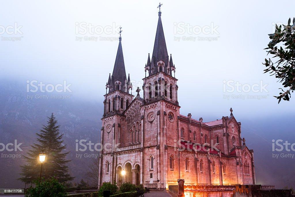 Sanctuary of Covadonga II stock photo
