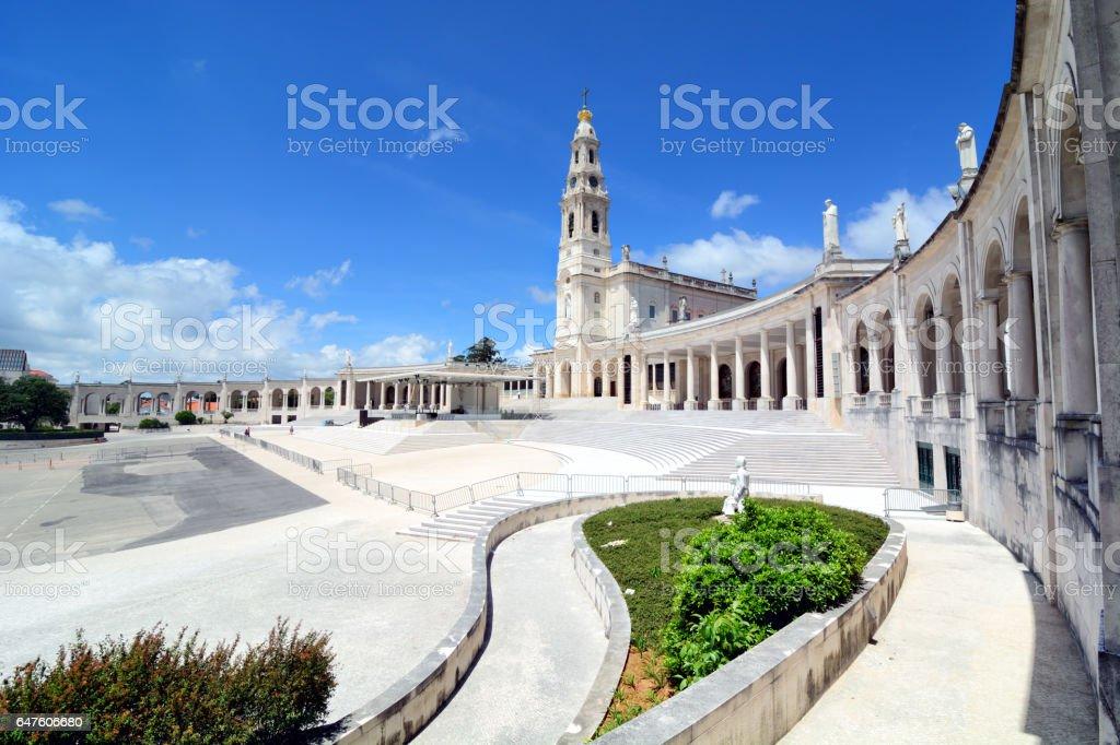Sanctuary of Fatima, Portugal stock photo