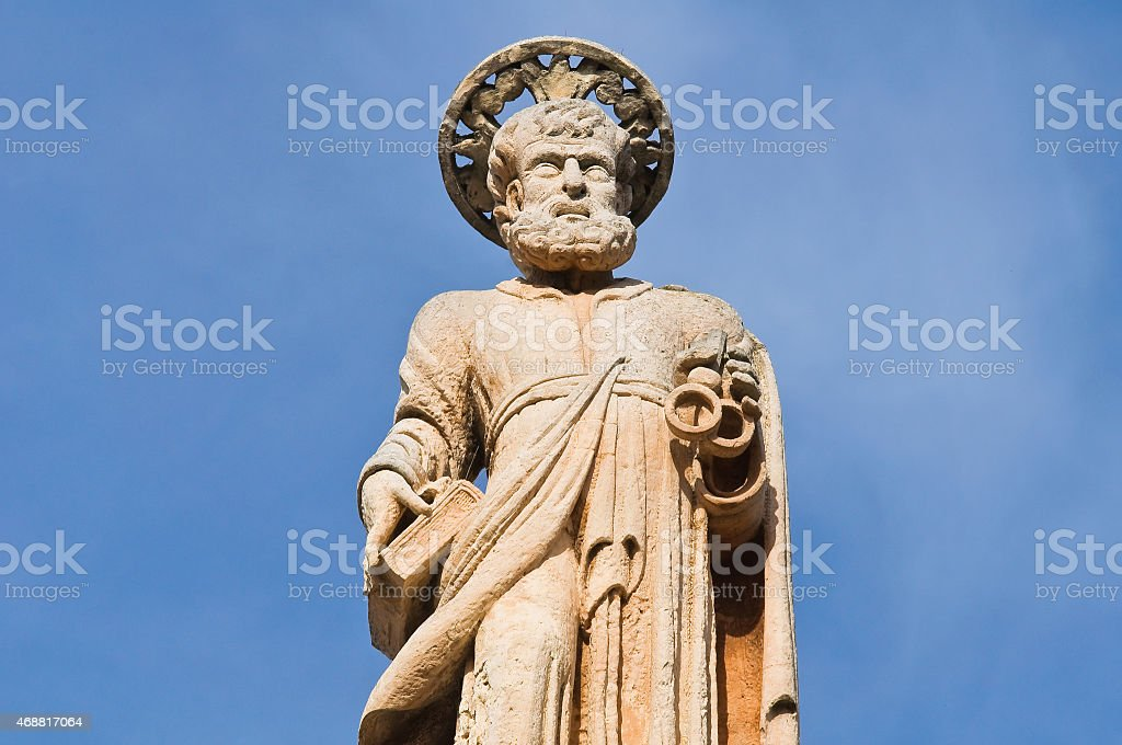 Sanctuary of Holy Crucifix. Galatone. Puglia. Italy. stock photo
