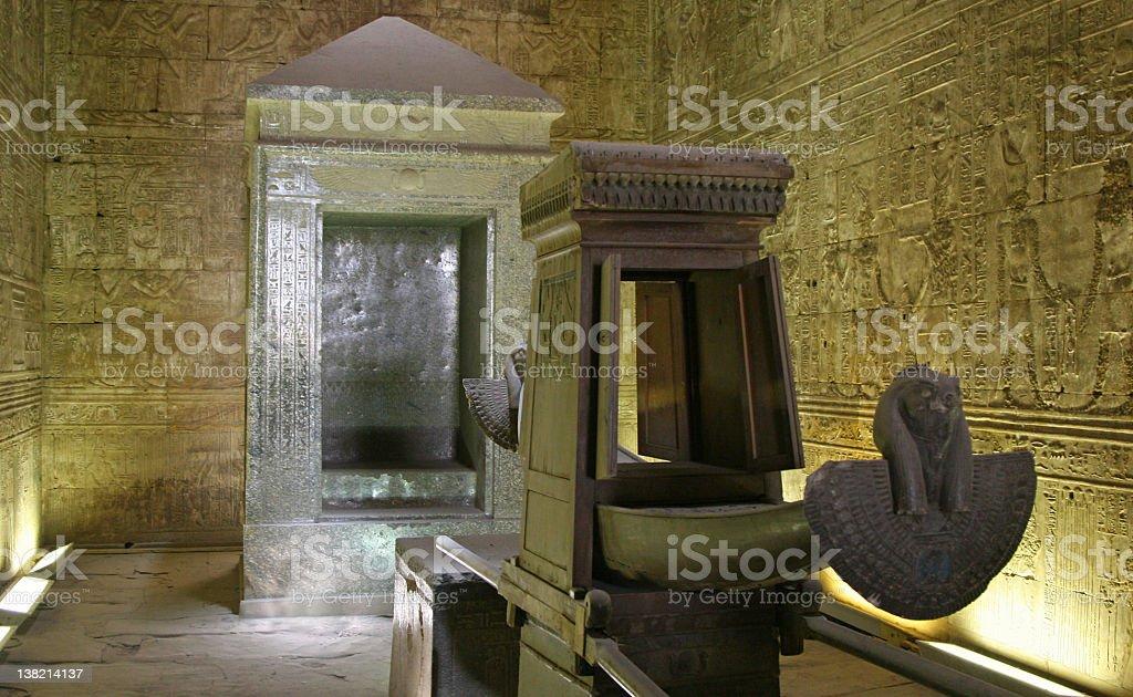 Sanctuary of Horus stock photo