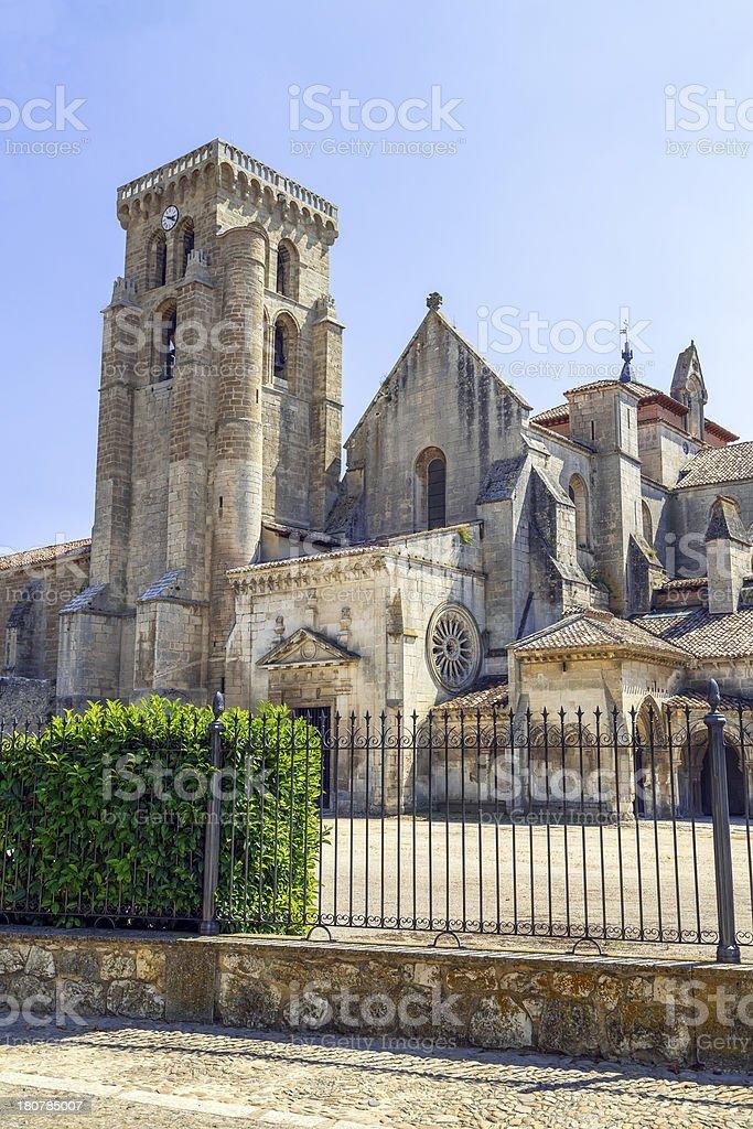 Sanctuary of Huelgas, Burgos royalty-free stock photo
