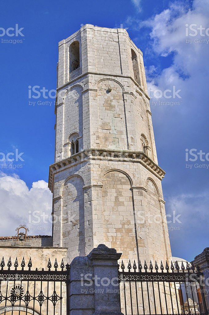 Sanctuary of Monte Sant'Angelo. Puglia. Italy. royalty-free stock photo