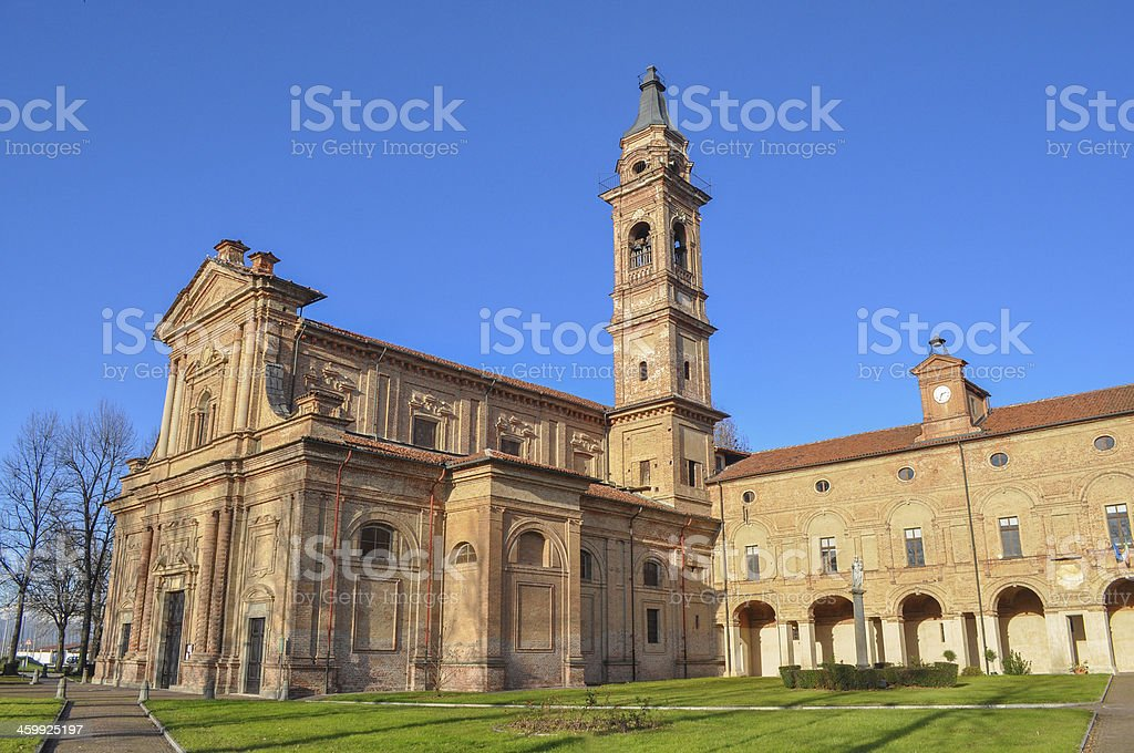 Sanctuary of the Holy Virgin in Moretta stock photo