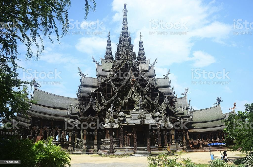 Sanctuary of Truth royalty-free stock photo