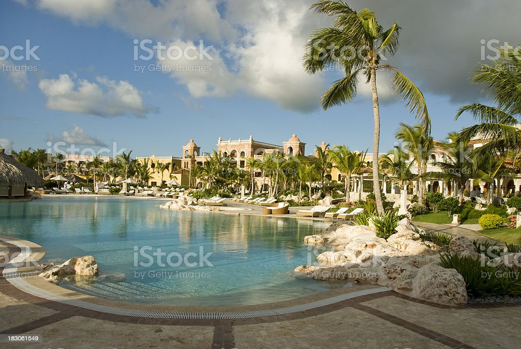 Sanctuary Resort, Punta Cana, Dominican Republic royalty-free stock photo