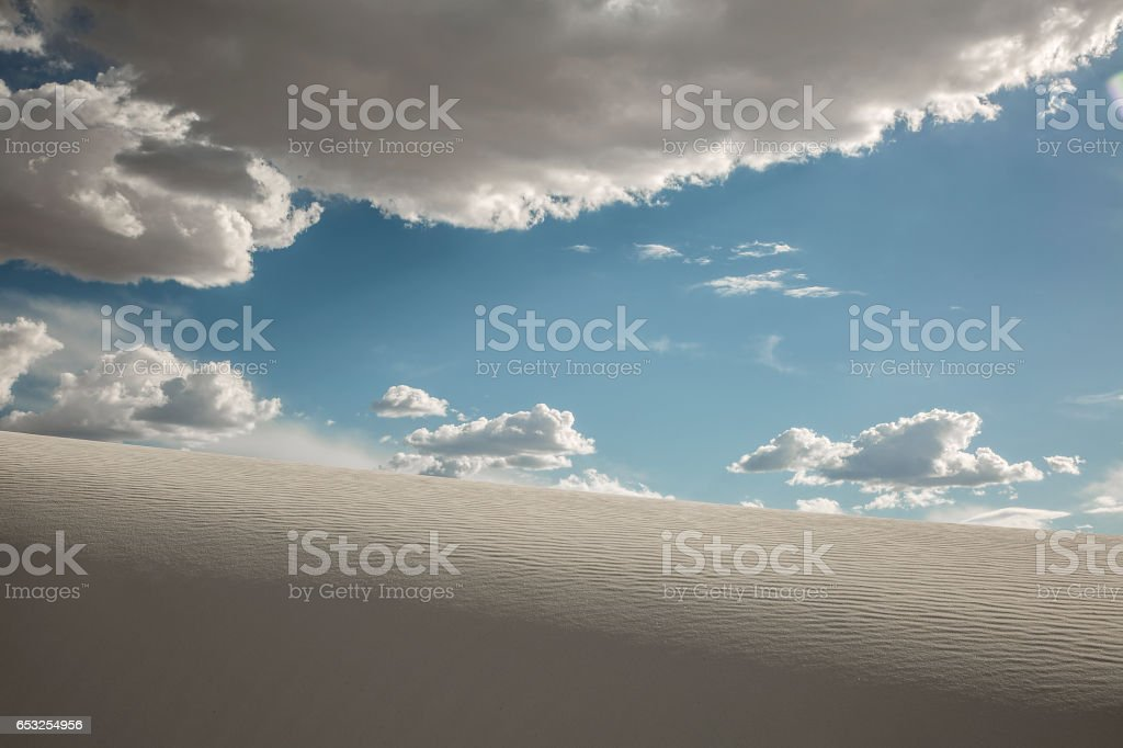 Sand and Sky stock photo