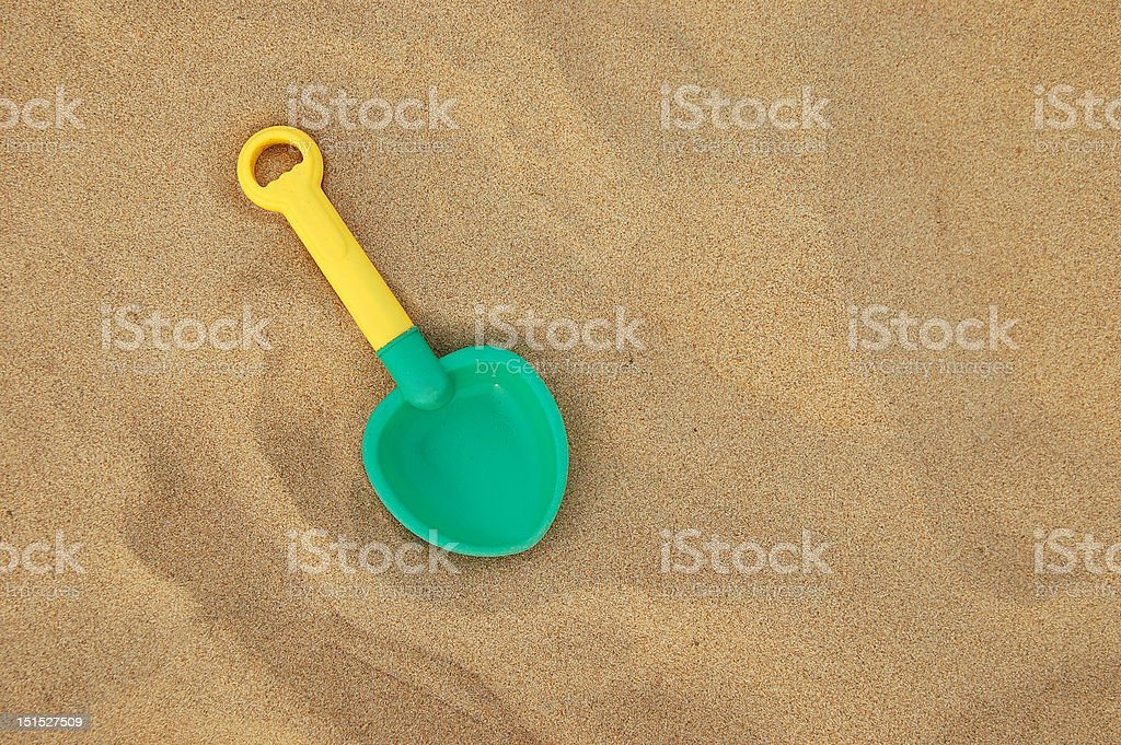 Sand and Toys stock photo