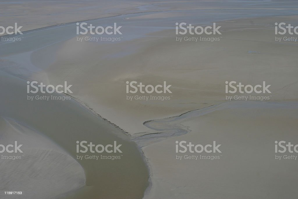 sand and water royalty-free stock photo