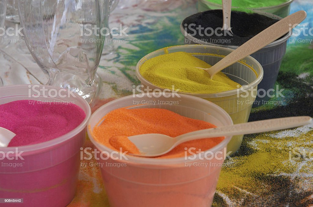 Sand Art 3 stock photo
