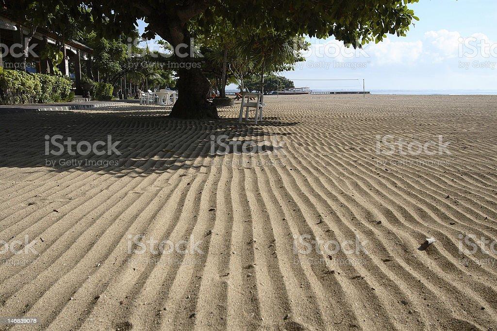 Sable de la plage photo libre de droits