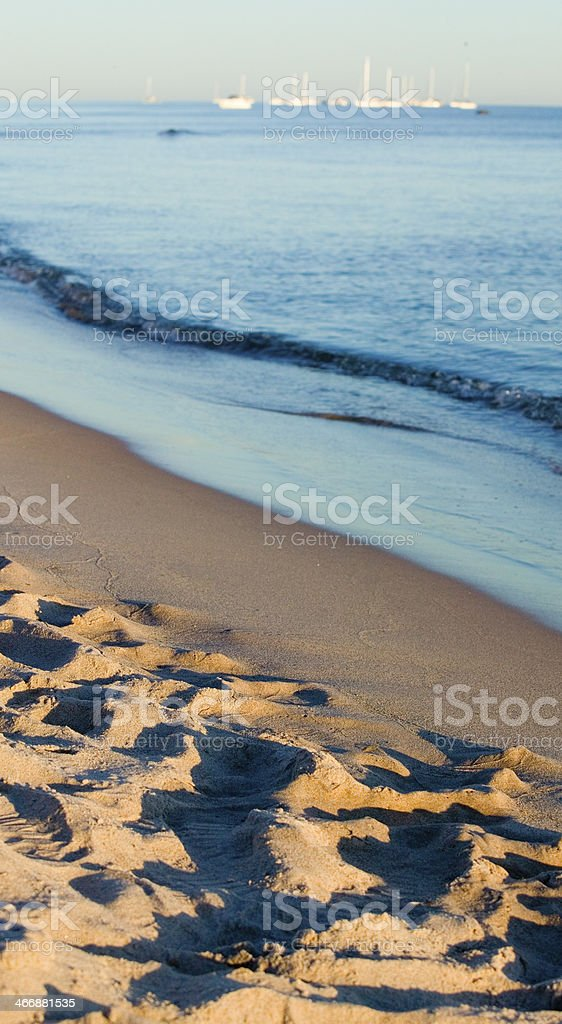 Sand beach and ocean.GN stock photo