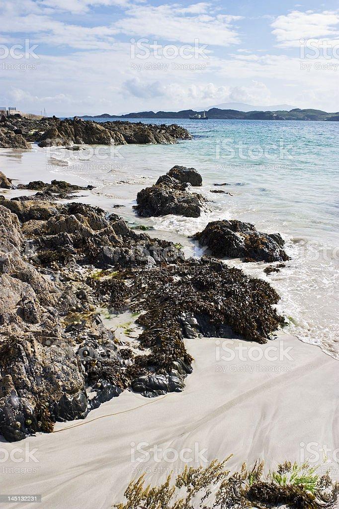 Sand beach royalty-free stock photo