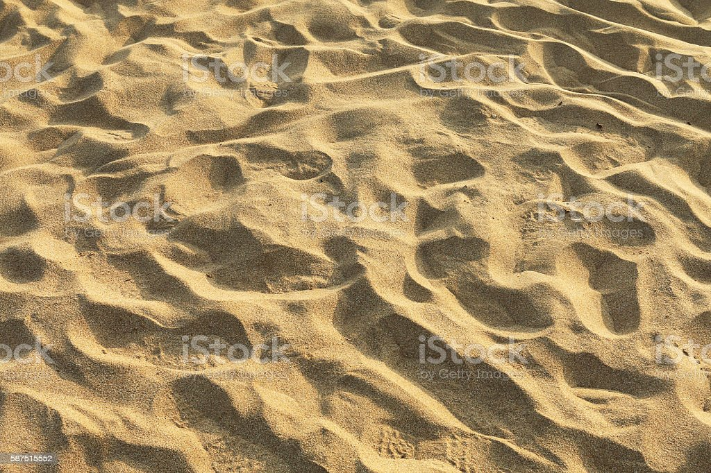 Sand beach stock photo