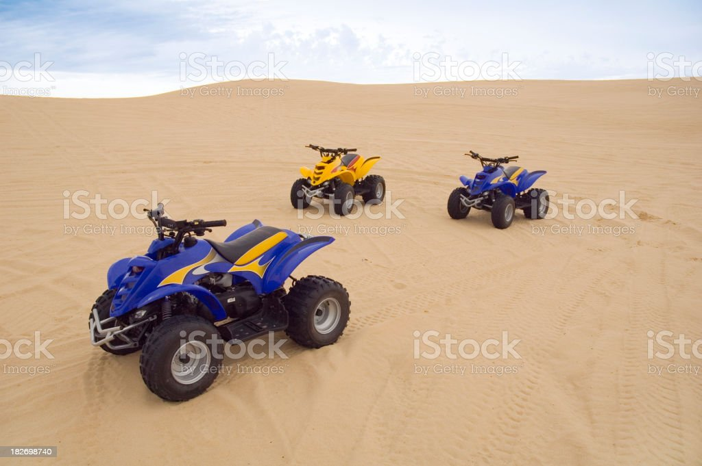 Sand buggies royalty-free stock photo