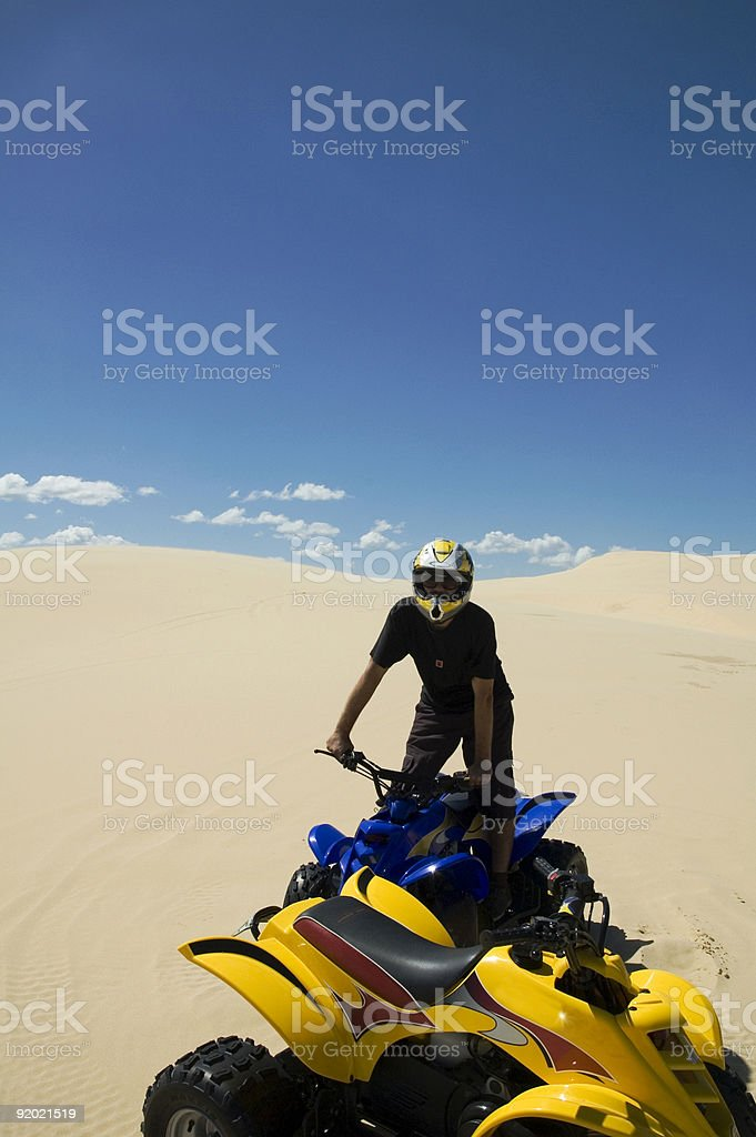 Sand Buggy stock photo
