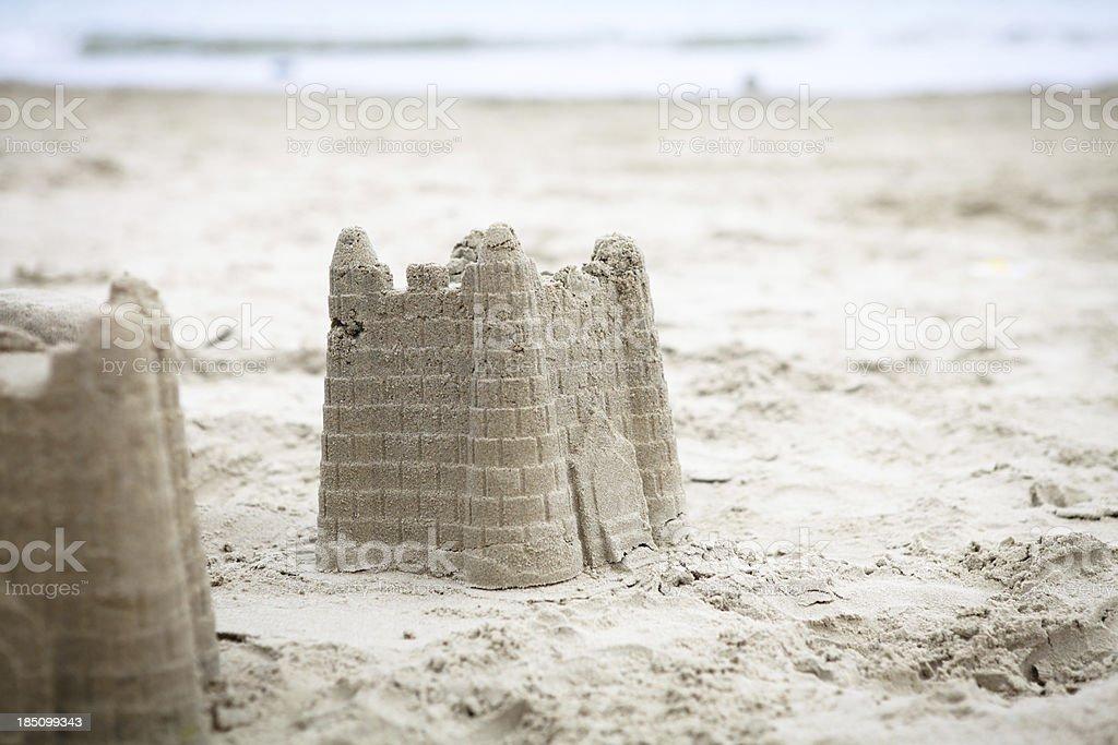 Sand Castle - XXLarge stock photo