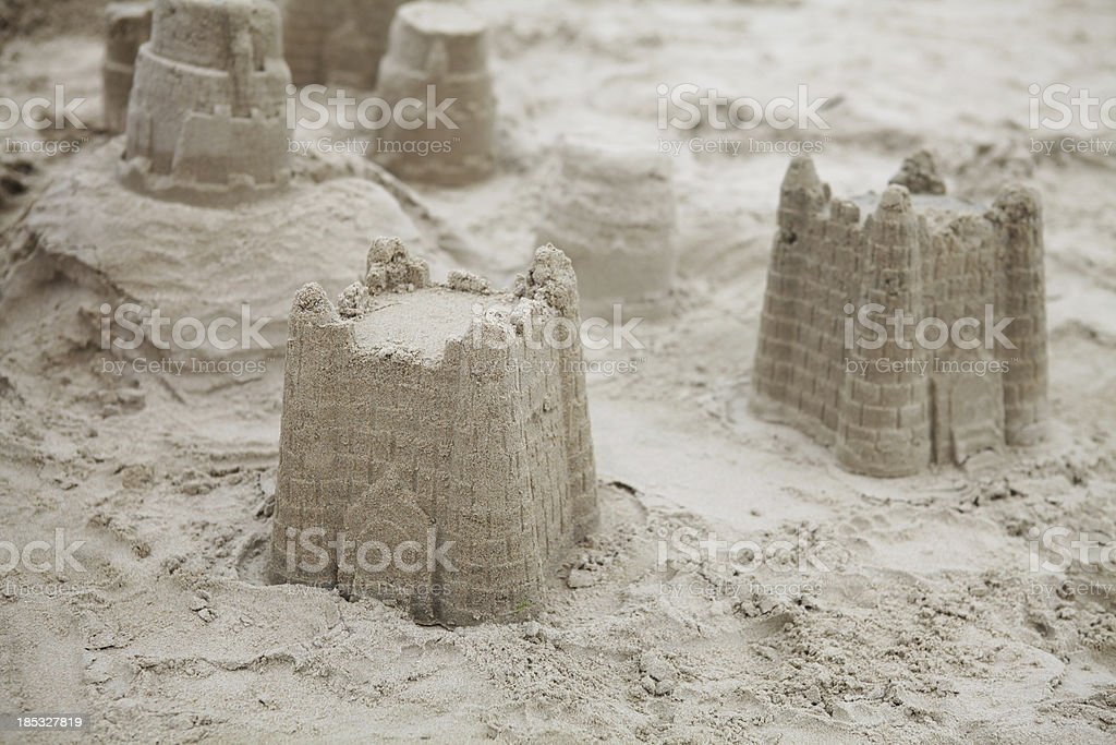 Sand Castle - XXXLarge stock photo