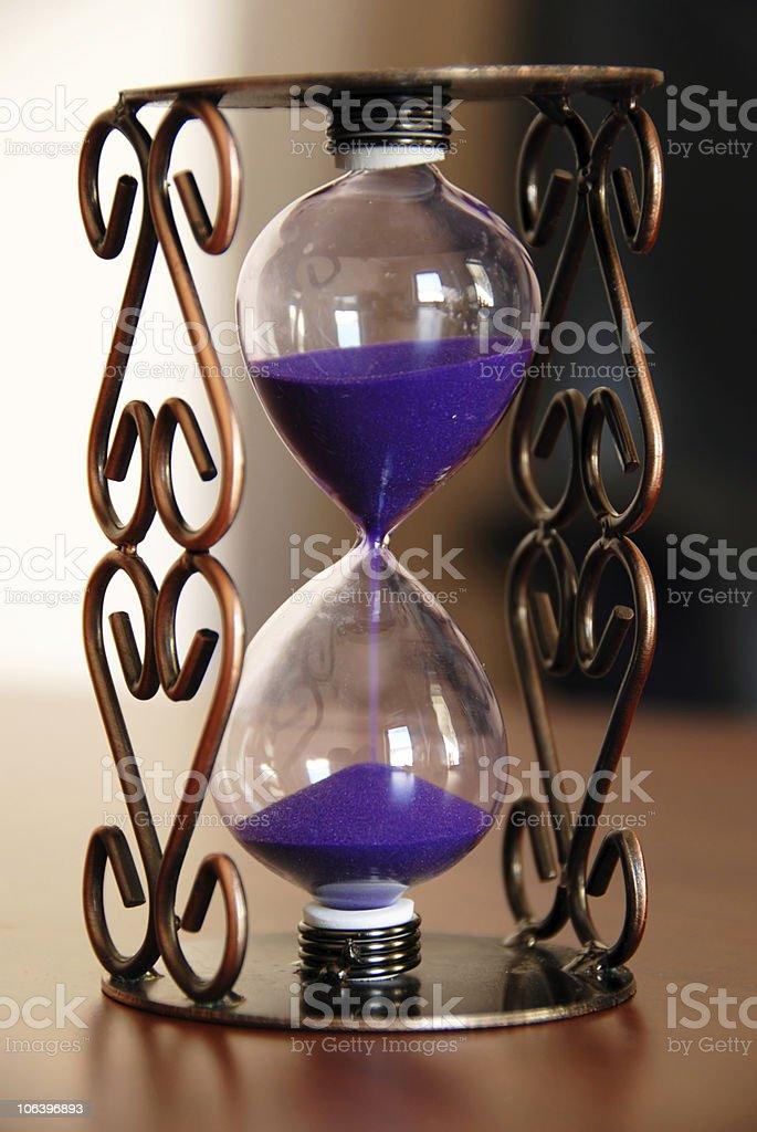 Sand clock royalty-free stock photo
