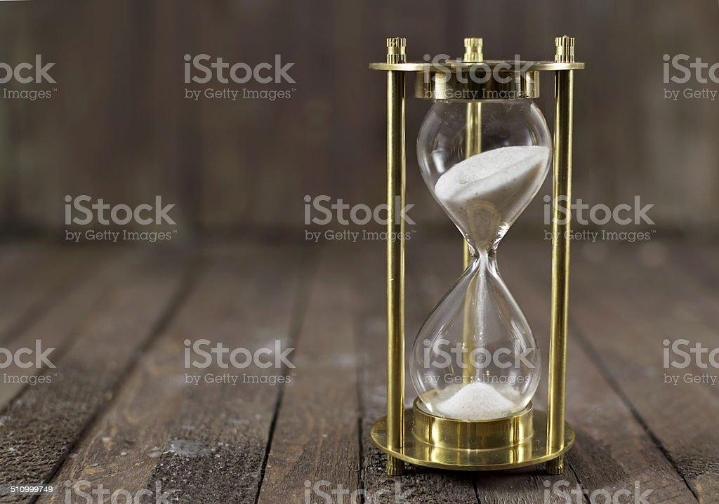Sand clock stock photo