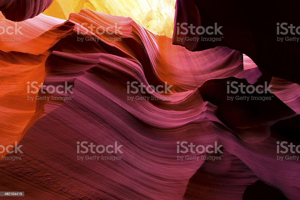 Luce fata color sabbia foto stock royalty-free