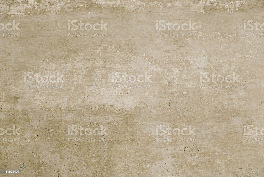 Sand Color Stucco Wall royalty-free stock photo