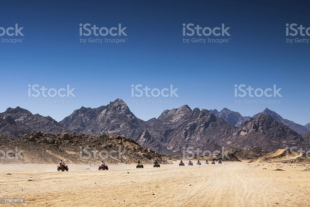 Sand desert, Egypt royalty-free stock photo