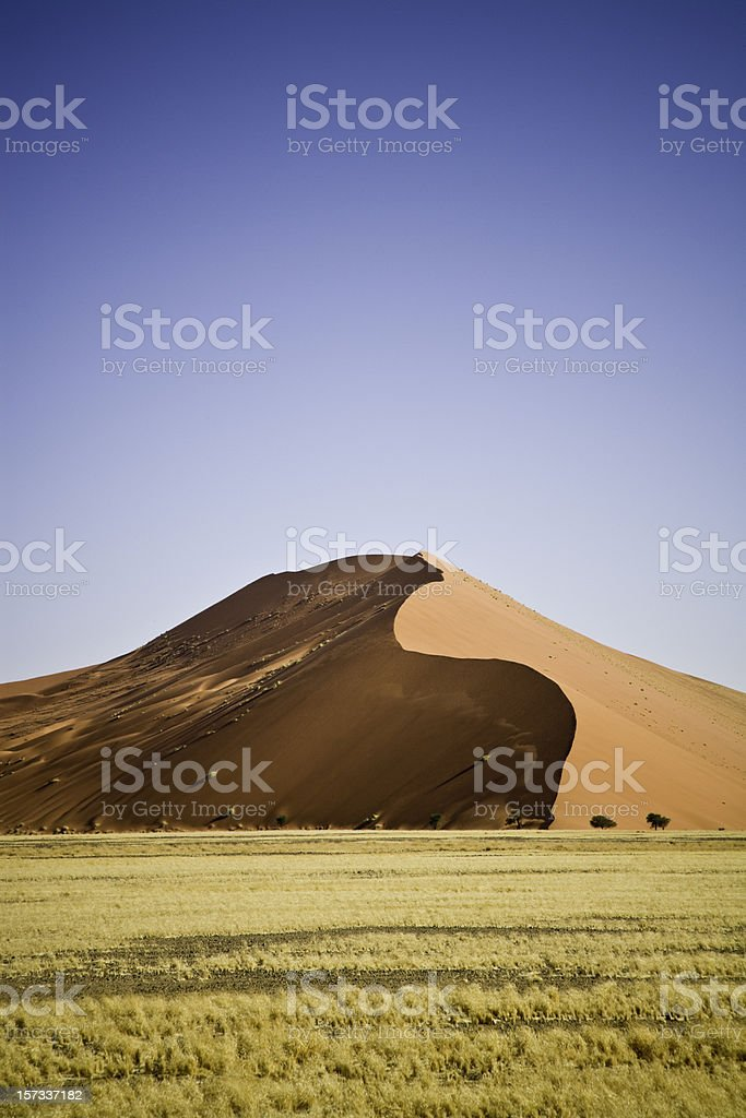 Sand Dune 45 Namibia stock photo