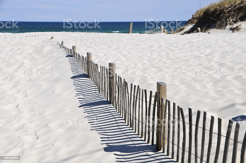 Sand Dune Construction stock photo