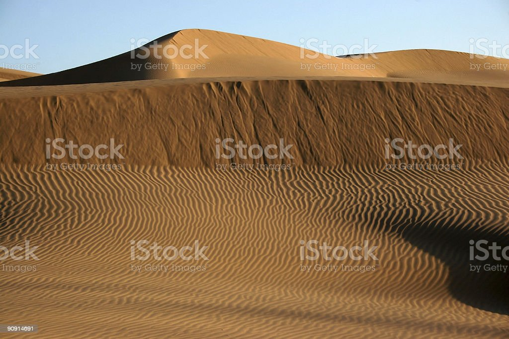 Sand Dune Desert royalty-free stock photo