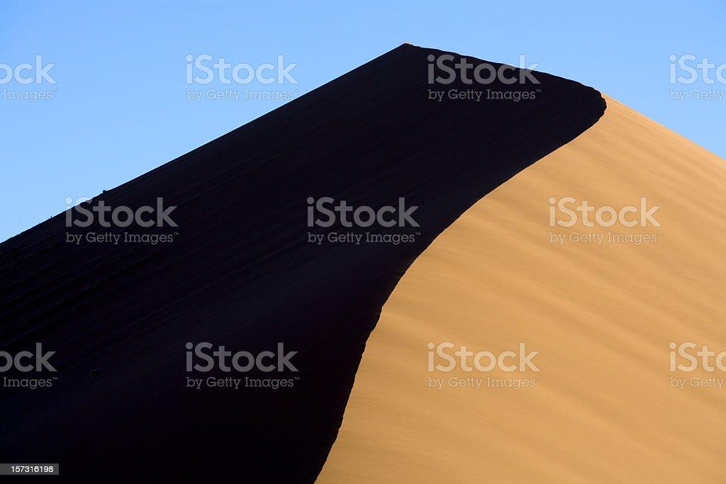 Sand Dune Detail Dune45 royalty-free stock photo