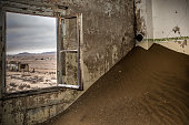 Sand Dune in abandoned house