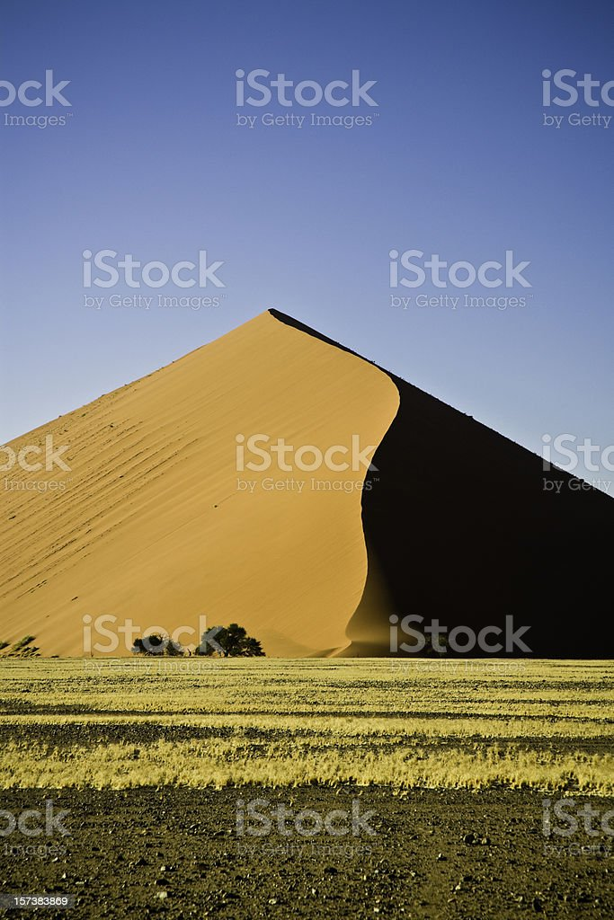 Sand Dune in Africa royalty-free stock photo