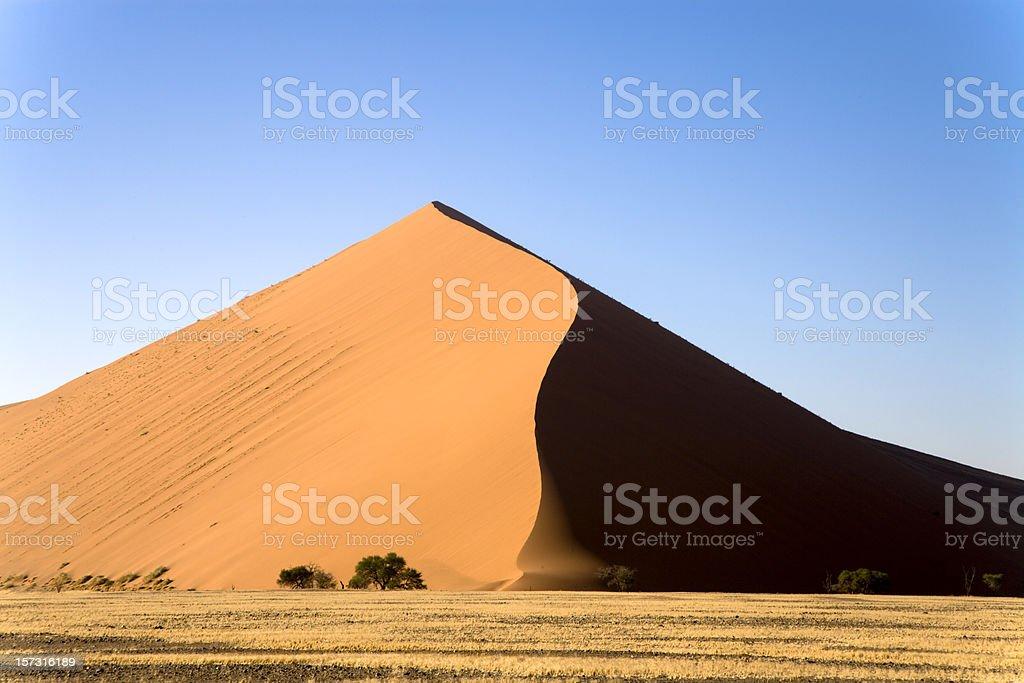 Sand Dune Namibia Sossusvlei royalty-free stock photo
