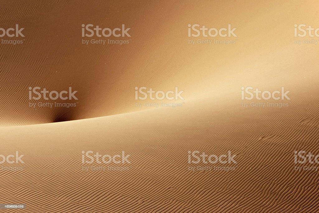 Sand Dune Navel stock photo