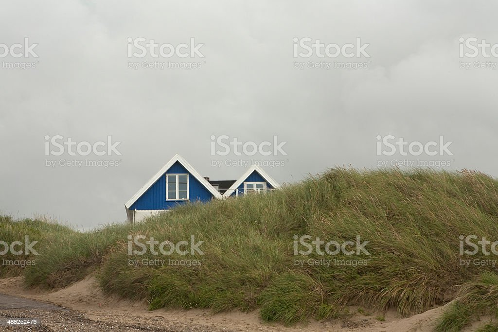 Sand Dune Privides Protection stock photo
