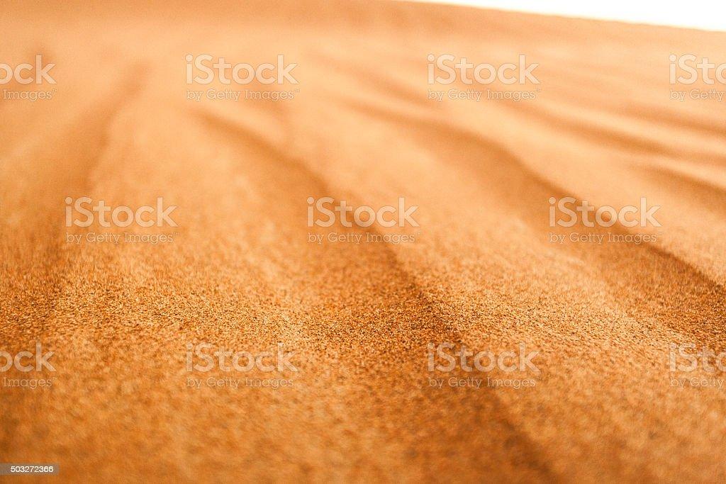 Sand Dune Ripples stock photo