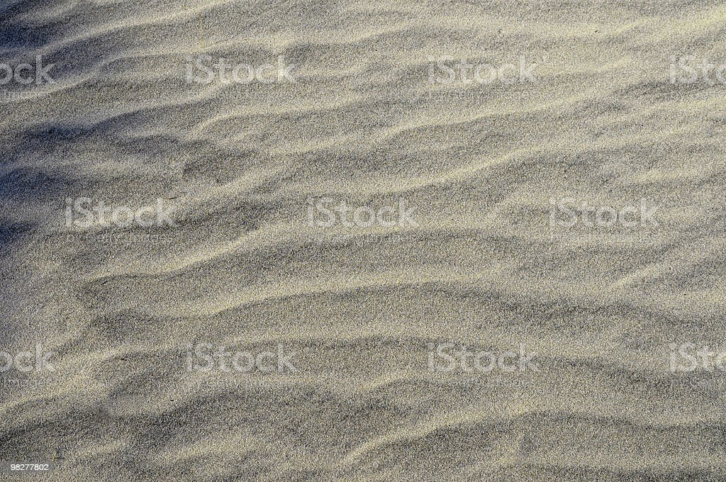 sand dune texture for background royalty-free stock photo